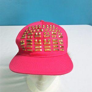 4/$25 NWOT Pink Embellished Nicki Minaj Cap